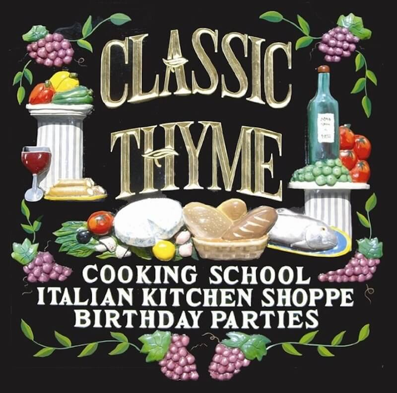 Banner of classic thyme cooking school
