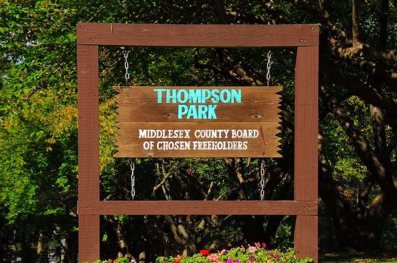 Board of a thompson park in jamesburg