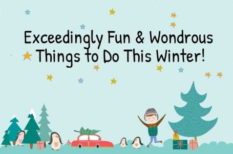 Wondrously Fun Things to do in NJ in the Winter