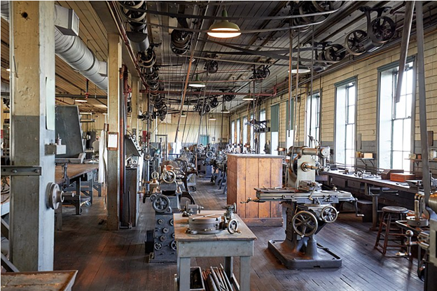 Image of the inside to the Thomas Edison Museum in NJ