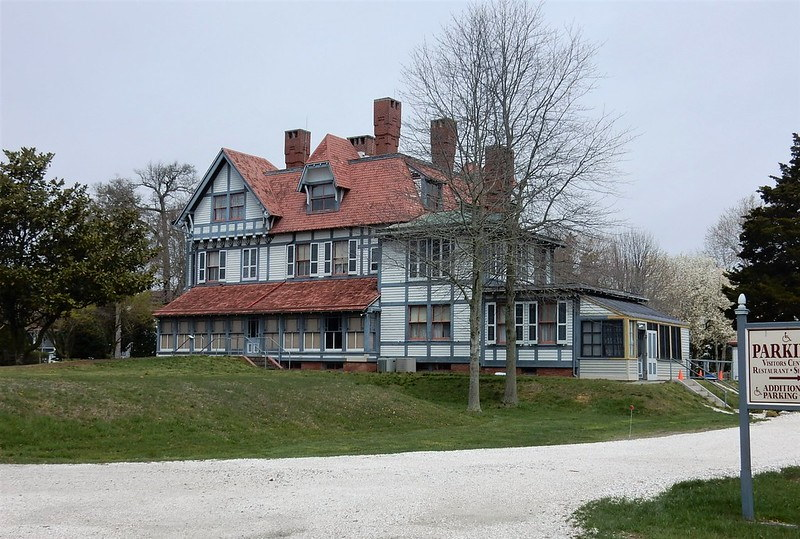 An outside view of Emlen Physick Estate