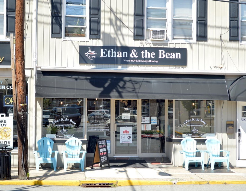 Front image of the Ethan and the bean coffee New Jersey
