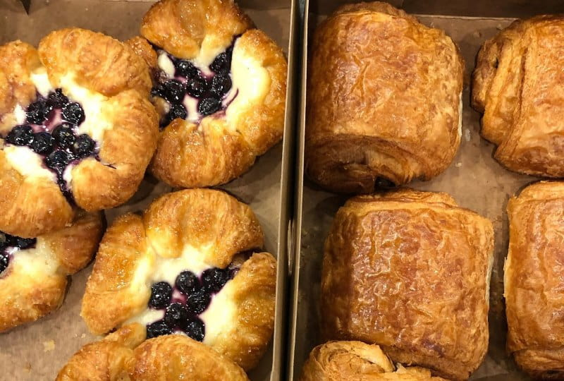 Image of some pastries at one of the best coffee shops in all of NJ - Jola Coffee