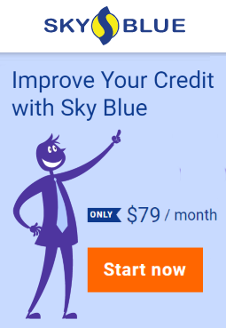 Repair your credit with Sky Blue
