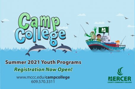 Registration Opens March 1, 2021 for Mercer County Community College's 'Camp College' In-Person Summer Youth Camp