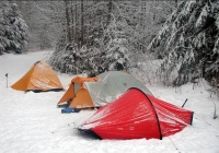 Round Valley Recreation Area Winter Camping in NJ