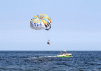 Belmar Parasail is an NJ Shore parasailing attraction