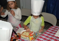 Chef Carl's Make a Pizza Party is a great birthday idea for kids in NJ