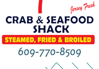 Crab & Seafood shack is one of the best Jersey Shore seafood attractions