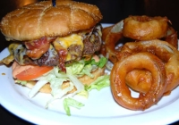Frankie's Bar and Grill at the Jersey Shore is a top attraction for burger lovers