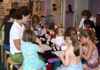 Just Bead Yourself in Central NJ is a great attraction to host a girls birthday party!