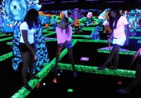 Monster Mini Golf is a fun NJ attraction for kids