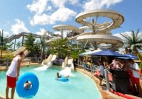 Ocean Oasis Waterpark at Morey's Piers is a fun NJ Shore attraction to beat the heat