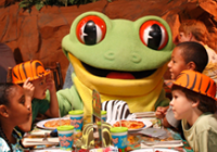 Rainforest Cafe is a restaurant attraction for kids in New Jersey