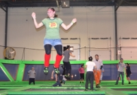 Rebounderz is a unique attraction for kids in Central NJ