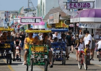 Wildwoods Boardwalk is one of the best boardwalk attractions in NJ