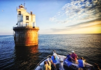 Delaware Bay Lighthouse Cruise Adventure guided tours in New Jersey