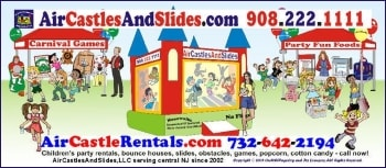 Air Castles and Slides Inflatable Rentals for Parties and Events in Central NJ