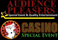 Audience Pleasers casino party entertainers in Northern NJ