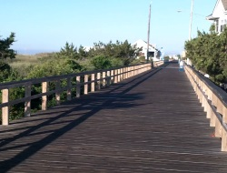 Avalon Boardwalks in NJ that are not Crowded
