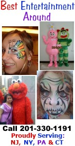Best Entertainment Around NJ Face Painters