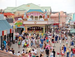 Fun Boardwalk Near The Point Pleasant Nj Beach