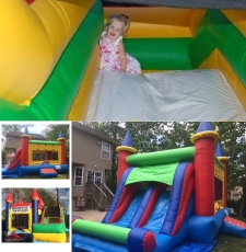 Bounce Slide N Giggle Inflatable Rentals in NJ