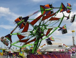 Cliffhanger Thrill Seeking Rides at the Keansburg Amusement Park NJ