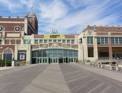 Convention Hall Asbury Park Boardwalk NJ Venues Overlooking the Beach
