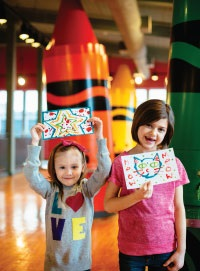 Crayola Experience Fun Kids Day Trips outside New Jersey