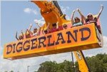 Diggerland USA unique birthday party places in Southern New Jersey