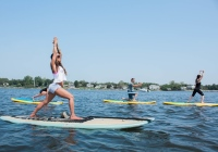 Flow Paddle Yoga stand up paddle board companies in Monmouth County NJ