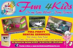 Fun 4Kids in My Little World Inflatable rentals Northern NJ
