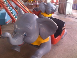 Jumbo Kids Rides on The Ocean City NJ Boardwalk