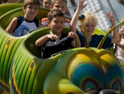 Wacky Worm Kids Roller Coaster Rides in OC NJ