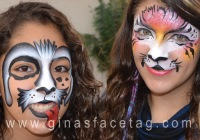 Gina's FaceTag face painters for parties in Northern NJ
