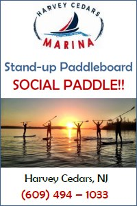 Harvey Cedars Marina Places to Paddleboard in NJ