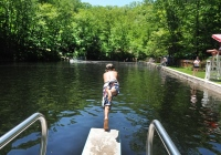 Highlands Natural Pool family friendly day trips in Passaic County NJ