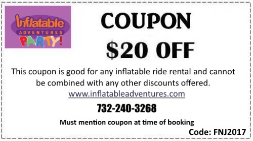 Inflatable Adventures Ocean County NJ Inflatable Rentals