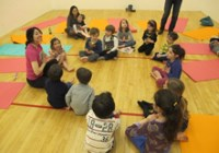 Kidding Around Yoga with Sharon toddler parties in Bergen County