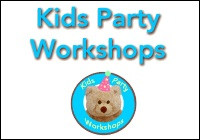 Kid's Party Workshop unique arts and craft parties in Central New Jersey