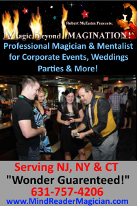 Magic Beyond Imagination NJ magicians