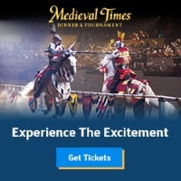 Medieval Times in Lyndhurst, NJ is an exciting NJ attraction for family fun night