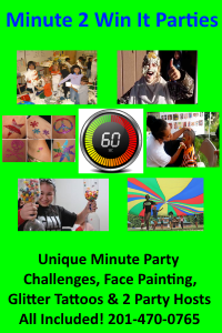Minute 2 Win It Parties Birthday Party Venues in Northern NJ