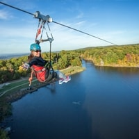 Mountain Creek Zip Tours top attractions to visit in Sussex County NJ
