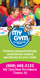 My Gym New Providence Kids Birthday party Places Central NJ