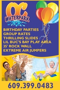 OC Waterpark Best Attractions for families in Cape May County NJ