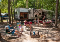 Ocean View Resort best RV campgrounds in Southern NJ