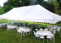 Parties, Picnics & Promos tent rental companies in Northern New Jersey