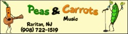 Peas and carrots kids musical parties NJ